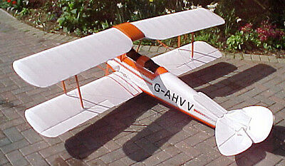 Plan for 1/4 scale de Havilland DH 82A Tiger Moth by Mike Smart Designs
