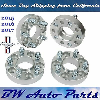 4PCs 5x4.5 HubCentric Wheel Spacer Adapters 25mm Thick Ford Mustang 2015 2016