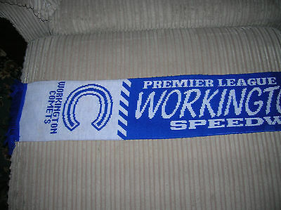 Workington Comets Scarf Cap And Badges
