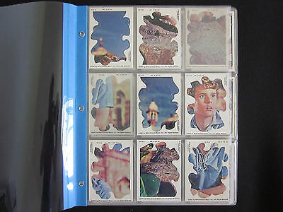 1967 Topps MAYA Non-Sport Cards Complete Set 55/55 NM-MT w/Puzzle Cards