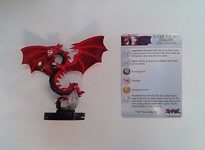 HeroClix Yu-Gi-Oh Battle of the Millennium Slifer the Sky Dragon with Card(HCB13