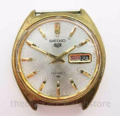 Vintage Seiko 23J Automatic 5126-8010 Model Wristwatch For Parts Or Restoration