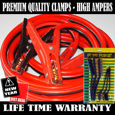 Industrial Heavy duty 20  Feet 2 Gauge Booster Jumper Cables