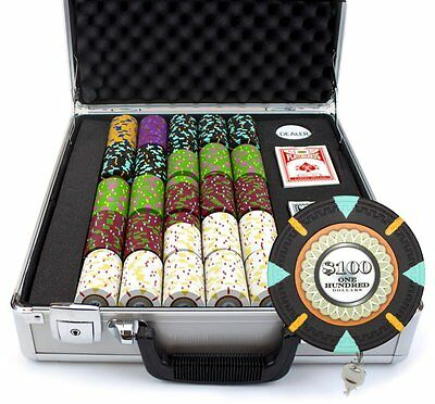 NEW 500 The Mint 13.5 Gram Clay Poker Chips Set Claysmith Case Pick Your Chips