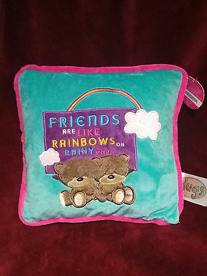 Hugs Friends Forever Cushion - with Tags