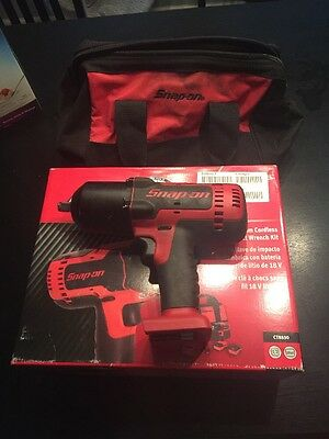 """Snap On•CT8850•1/2"""" 18 Volt•MonsterLithium Impact Wrench•Tool Only•18Volt"""