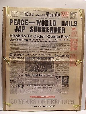 The Herald Victory Edition Souvenir, 1945-1995, 50 Years of Freedom