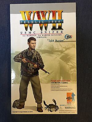 """PRICED TO CLEAR - 1/6 Dragon Action Figure """"Jake Hanson"""""""