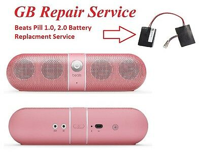 Beats Pill 1.0, 2.0 Battery Replacement Service - Replacement