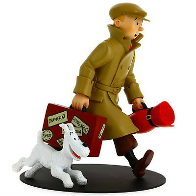 Tintin and Snowy HOMECOMING! Statue by Moulinsart, Ltd. Edition (NEW) IN STOCK