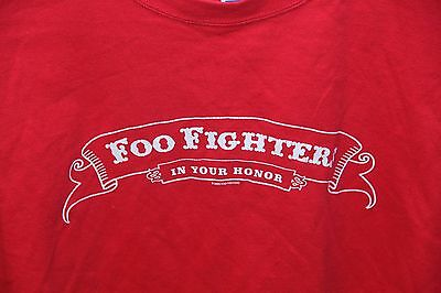 "Vintage, Foo Fighters ""In Your Honor"" 2005 t-shirt Canadian Tour  XL"