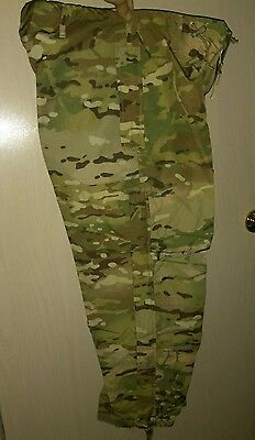 US MILITARY ISSUE ECWCS EXTREME WET/COLD WEATHER TROUSERS Multicam Small/short