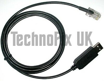 USB programming cable for Tait 8000 series radios TM8000 TM8100 TM8200 T-S8107