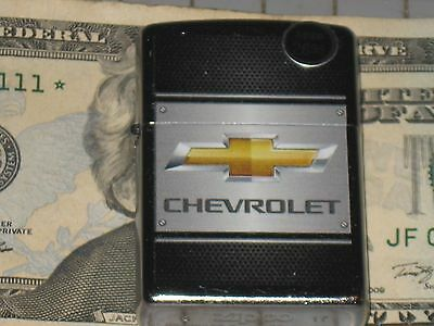 New Windproof ZIPPO USA LIGHTER GM Chevrolet Chevy 0n Steel Truck St Chrome Case