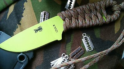 ESEE IZULA Clone and sheath.venom green.  SEE DESCRIPTION! (Made in china)