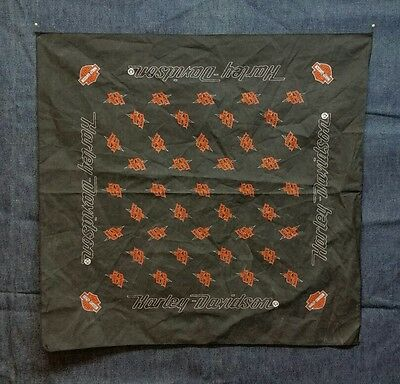"Harley Davidson Handkerchief Bandana Scarf The Rides Of March 21"" x 21"" - F52"
