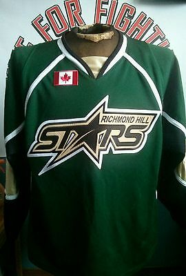 Game worn Richmond Hill Stars jersey GTHL OMHA Dallas Stars