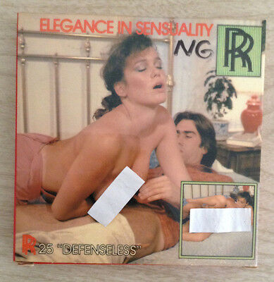 8mm Adult Film Elegance In Sensuality Defenseless Color Erotica Movie RR #25