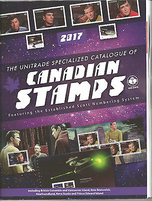 Unitrade Catalogue of Canadian Stamps 2017 FREE SHIPPING! nice stamps on package
