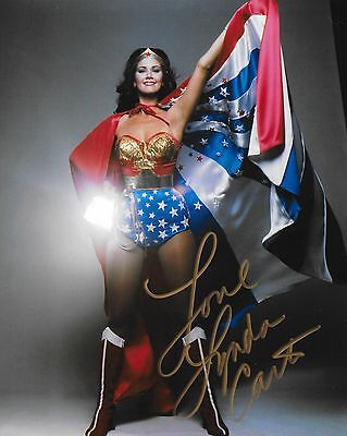 LYNDA CARTER Autograph -  Beautiful 8x10 Authentic Signed Photo  Wonder Woman
