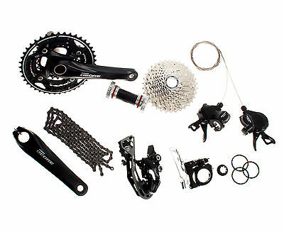 SHIMANO Deore M610 MTB Groupset Group Set 10 speeds 170mm 7pcs for Mountain Bike