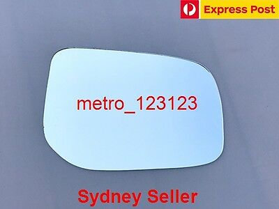 Right Driver Side Mirror Glass Only For Toyota Yaris 2005-2011