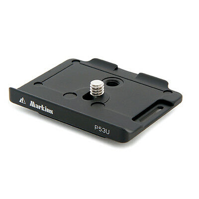 Markins Quick Release Camera Plate P53U for Canon 5D Mark III, 5D Mark IV & 5Ds