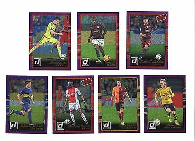 2016-17 Panini Donruss, (Purple), Soccer / Fußall Cards !!