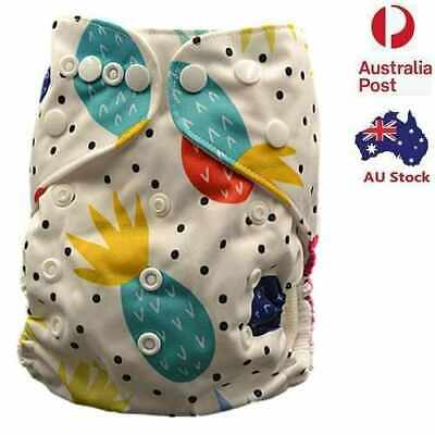 Modern Cloth Nappies Unisex Cloth Nappy Cloth Diaper With Pocket Liner (D175)