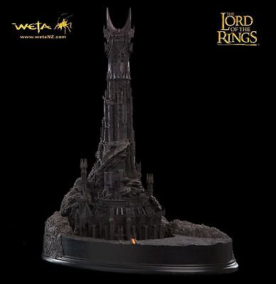 WETA Lord of the Rings Barad Dur Fortress Polystone Diorama NEU OVP