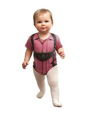 Realistic Faux German Costume Lederhosen Snap Suit