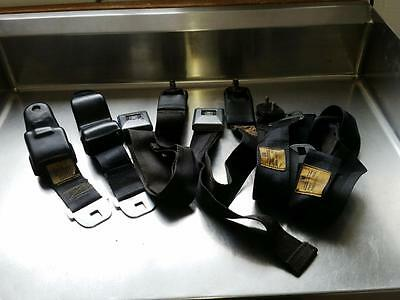 Matching # GM Seat Belts Shoulder Belts Hamill 1968 Camaro? Firebird? Deluxe
