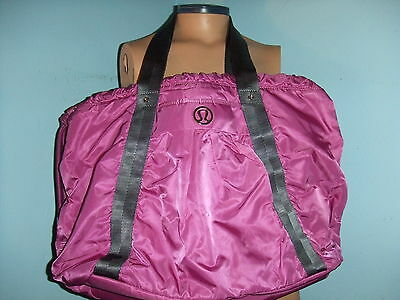 LULULEMON EFFORTLESS TOTE VIOLACEOUS EUC Yoga mat gym bag