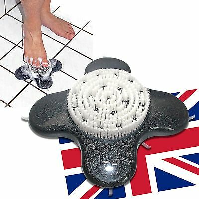 Spa Massaging Foot Pedicure Brush Washer Scrubber /Shower&Bath