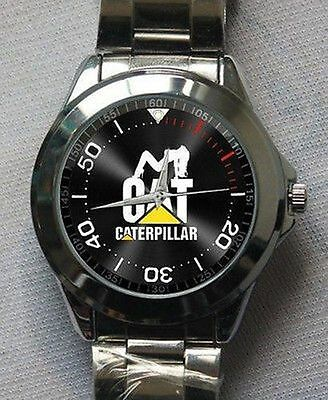 Hot! !Caterpillar Cat New Design Logo Sport Metal watch