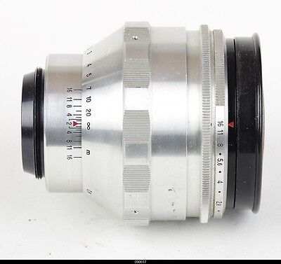 Lens Zeiss Biotar 1.5/75mm Red T For Pentax M42