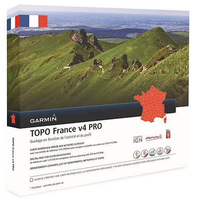Garmin topo France V4.01 PRO MAP MAPA CARTE CARD KARTE microsd  010-D1198-01