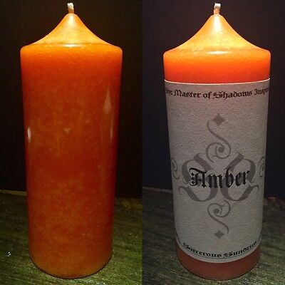 Liquid Amber Styx game inspired - pagan goth witch wicca candle !sale!