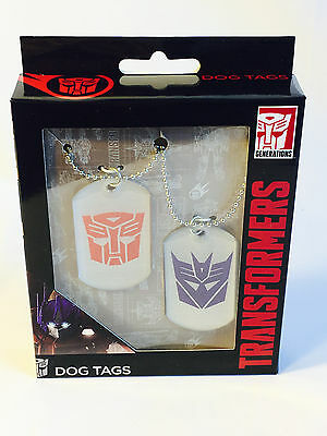 TRANSFORMERS 2 Pack Dog Tags Nerd Block Jr March 2017