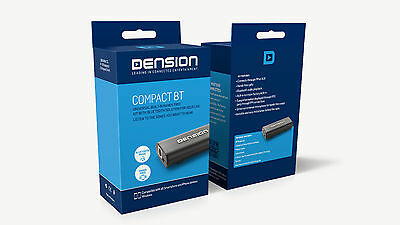 DENSION COMPACT BT Adapter CBT1GEN for cars equipped with FM radio or AUX in