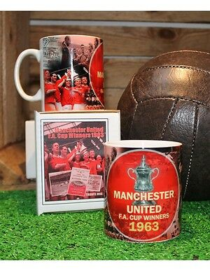 Manchester United  Retro Mug 1963 FA Cup Winners