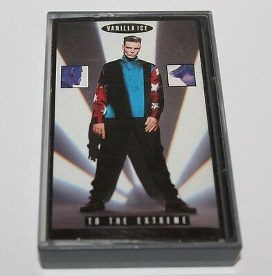 Vanilla Ice To The Extreme Album Cassette Tape 1990 Tc-K495325