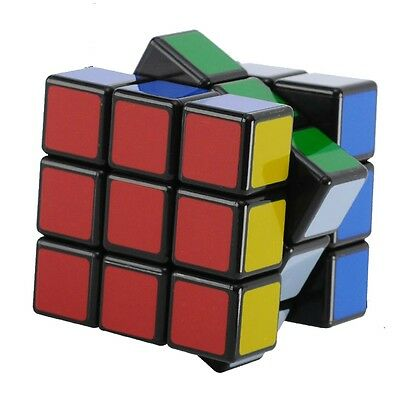 3x3x Classic Rubik's Cube Good Quality Size Best Rubix Puzzle Educational Game