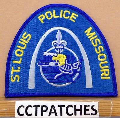 St. Louis, Missouri Police (Blue) Shoulder Patch Mo New