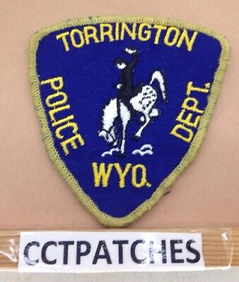 Torrington, Wyoming Police Shoulder Patch Wy