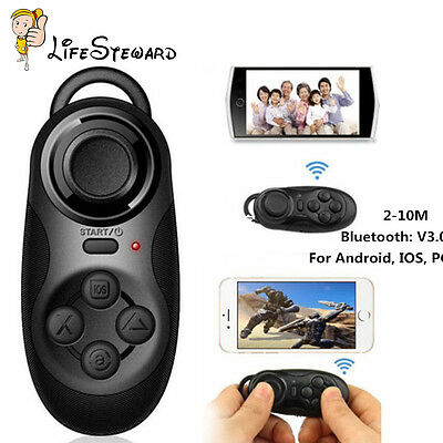 Top Wireless Bluetooth VR-BOX Gamepad Remote Controller for 3D Glasses Phones