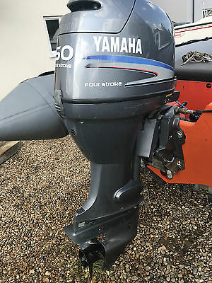 Yamaha 50Hp Four Stroke Outboard - / Video / Free Fitting