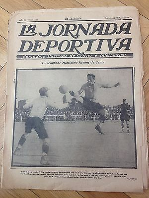 Jornada Deportiva 30 April 1923 Final Fa Cup Bolton West Ham And Chelsea Bolton