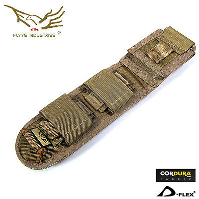 Flyye Long Knife Pouch Molle Pouch Military Bag Airsoft Combat Army Gear PH-C022