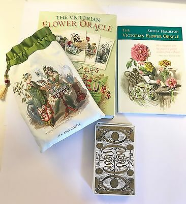 The Victorian Flower Oracle  *Deck and Companion Book 2006 - Very Rare